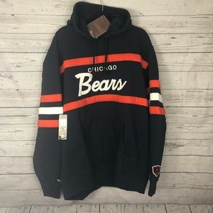 purchase cheap c8601 a2e97 {Mitchell & Ness} Chicago bears hoodie NEW NWT